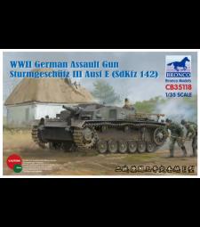 1:35 Германско самоходно оръдие Sturmgeschütz  III Ausf E (SdKfz 14) Втората световна война