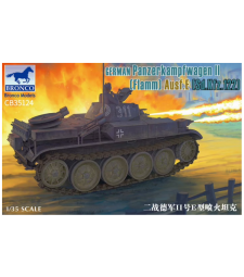 "1:35 Германски танк ""Фламинго"" German Panzerkampfwagen II Flamm Ausf.E (Sd.Kfz.122)"