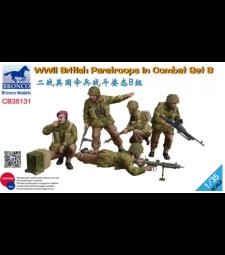 1:35 Британски парашутисти от Втората световна война комплект Б