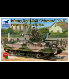 "1:35 Пехотен танк Mk. III ""Valentine"" Mk. IX"