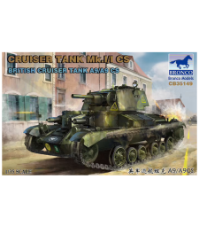 1:35 Британски танк Mk.I/I CS British Cruiser Tank A9/A9CS