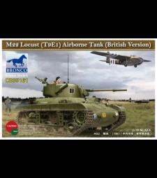 1:35 Британска версия на танк M22 'Lucust' (T9E1) Airborne Tank (British Version)