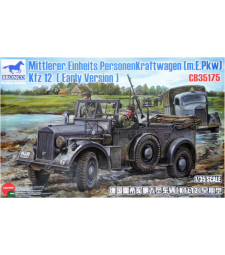 1:35 Германски автомобил Mittlerer Einheits Personenkraftwagen (m.E.Pkw) Kfz 12 (ранна версия)