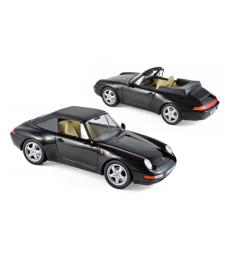 Porsche 911 Cabriolet 1994 - Black