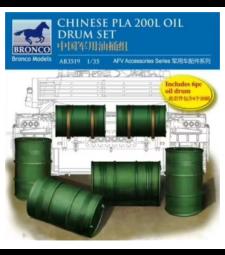 1:35 Комплект китайски варели за гориво PLA 200L