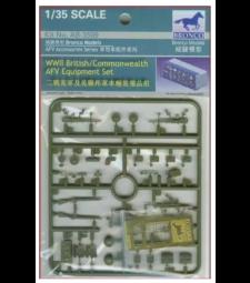 1:35 Комплект оборудване за британски AFV от Втората световна война