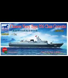 1:350 Китайска корвета Тип 056 (580/581) 'Datong/Yingk (Chinese Navy Type 056 Class Corvette (580/581) 'Datong/Yingk)