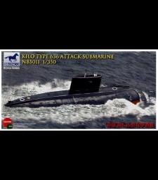 1:350 Съветска подводница Кило Тип 636 (Kilo Type 636  Attack Submarine)