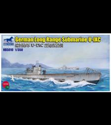 1:350 Германска подводница Тип U-IXC (German Long Range Submarine Type U-IXC)