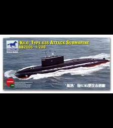 1:200 Руска подводница клас Кило Тип 636 (Kilo Type 636 Attack Submarine)