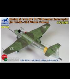 1:72 Бомбардировач прехващач Blohm & Voss BV P178 с /MK-214 50mm