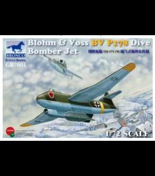 1:72 Германски реактивен бомбардировач Blohm & Voss BV P178 Dive Bomber Jet
