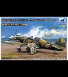 1:48 Самолет Curtiss Hawk 81-A2 'AVG '(Специално издание)