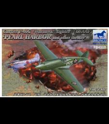 1:48 Самолет Curtiss P-40C 'Warhawk' Fighter (ВВС на американската армия)