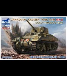1:35 Канадски танк Ram MK.II, ранно производство