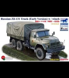 1:35 Руски камион Zil-131 (ранна версия) с лебедка