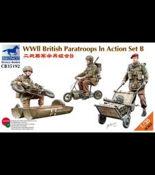1:35 Британски парашутни войски в действие, комплект B, Втората световна война