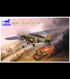 1:35 Американски самолет Piper Cub L4H 'Rosie The Rocketeer'