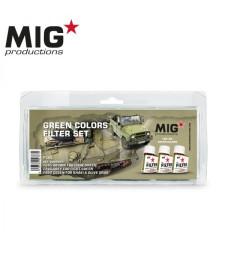 P265 GREEN COLORS FILTER SET (3 x 75 ml) - Комплект от филтри