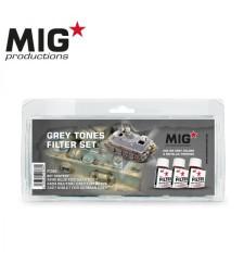 P266 GREY TONES FILTER SET (3 x 75 ml)  - Комплект от филтри