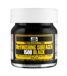 SF-288 Течен грунд Mr. Finishing Surfacer 1500 Black 40 ml