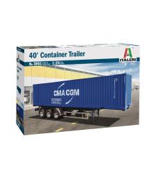 1:24 40-футов товарен контейнер (40' CONTAINER TRAILER)
