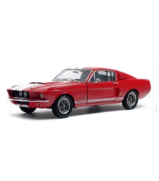 FORD MUSTANG GT500 RED WHITE STRIPES 1967