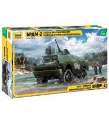 1:35 Руска бронирана машина BRDM-2 (BRDM-2 RUSSIAN ARMORED CAR)