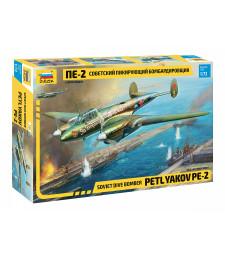 1:72 Съветски бомбардировач Петляков Пе-2 (Soviet dive bomber Petlyakov PE-2)
