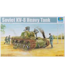 1:35 Съветски танк  КВ-8 /KV-8/