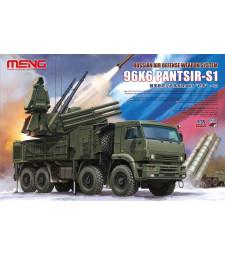 1:35 Руска система за противовъздушна отбрана 96К6 ПАНТСИР-С1 (Russian Air Defense Weapon System 96K6 PANTSIR-S1)