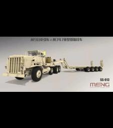 1:35 U.S. M911 C-HET (8X6) & M747 Heavy Equipment Semi-Trailer