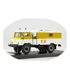 KŠM P-142N (GAZ-66) Command-HQ Olympic Games Moscow 1980 , limited 360pcs