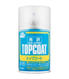 B-501 Гланц лак Mr. Top Coat Gloss Spray (86 ml)