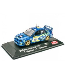 Subaru Impreza WRC - 2002 T.Makinen / K. Lindstrom - ATLAS Editions Collection