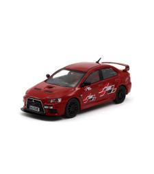 Mitsubishi Evo X Ralliart, Red