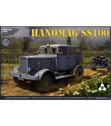 1:35 Германски влекач Hanomag SS100 (WWII German Tractor Hanomag SS100)