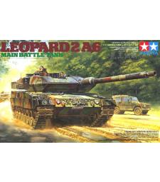 1:35 Германски основен боен танк Leopard 2 A6 Main Battle Tank - 2 фигури