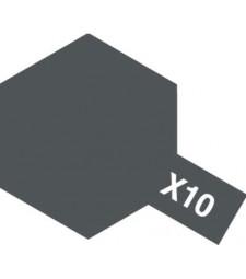 X-10 Gun Metal - Acrylic Paint (Gloss) 23 ml