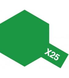 X-25 Clear Green - Acrylic Paint (Gloss) 23 ml