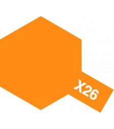X-26 Clear Orange - Acrylic Paint (Gloss) 23 ml