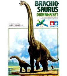 1:35 Брахиозавър, диорама (Brachiosaurus Diorama)
