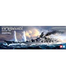 """1:350 Германски линеен кораб """"Бисмарк"""" (German Battleship Bismarck)"""