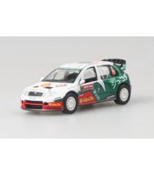 Skoda Fabia WRC EVO II. Hirvonen Rallye Japan 2005