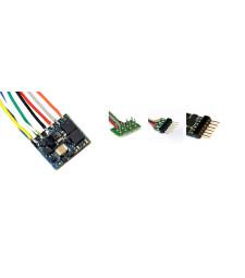 LokPilot Nano Standard, DCC декодер, NEM652 8-пинов с wire harness