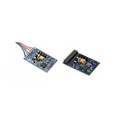 LokPilot Standard DCC, 21MTC interface, 4 amplified outputs + 2 logic outputs