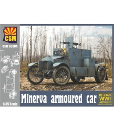 1:35 Белгийска версия на брониран автомобил Minerva (Minerva Armoured car with Belgian version)