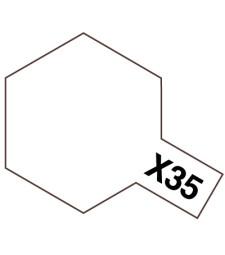 X-35 Semi Gloss Clear - Acrylic Paint Mini (Semi Gloss) 10 ml