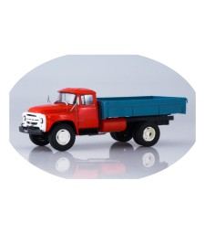 ZIL-138 flatbed truck /red-blue/