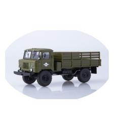 GAZ-66 Flatbed truck /khaki/